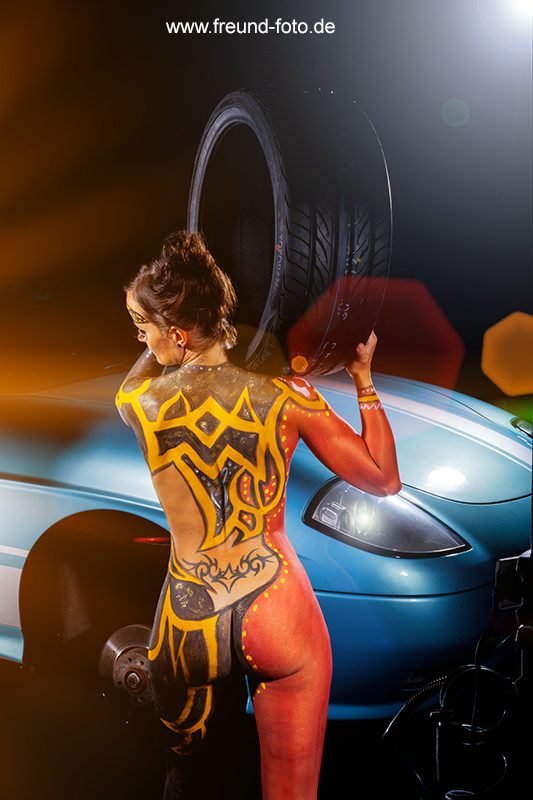 kfz bodypainting shooting in nürnberg fürth