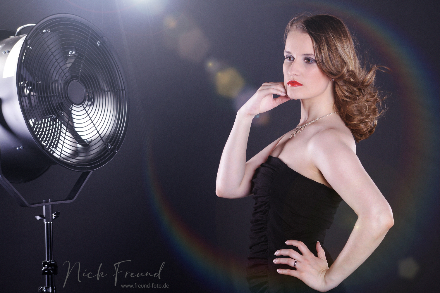 professionelles model fotoshooting in oberasbach